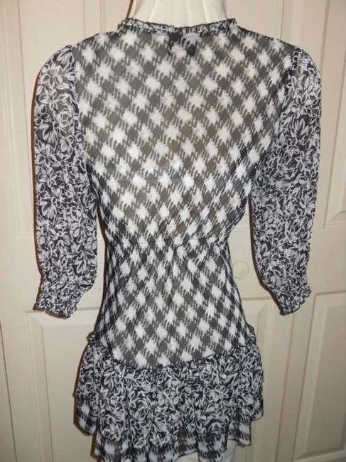 ECI New York short dress black & white on Tradesy