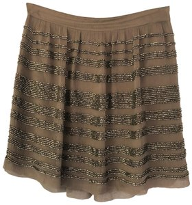 Club Monaco Mini Skirt olive