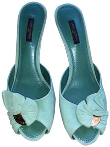 Louis Vuitton mint Mules