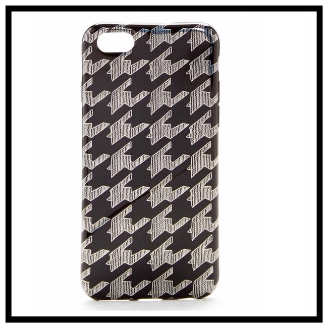 Item - Black & White Houndstooth Print Iphone 6/6s Hardshell Case Tech Accessory