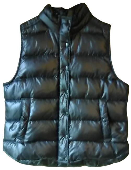 Item - Black Down Filled Puffer Vest Size 12 (L)