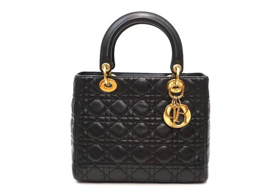 Preload https://img-static.tradesy.com/item/25652238/dior-lady-cannage-quilted-handbag-black-lambskin-leather-tote-0-0-540-540.jpg