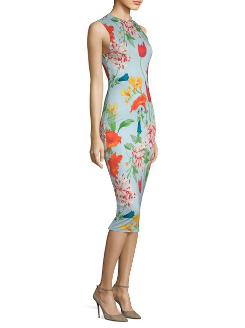 Preload https://img-static.tradesy.com/item/25652290/alice-olivia-greenwich-icy-blue-delora-collared-neck-floral-print-fitted-sheath-mid-length-cocktail-0-0-650-650.jpg
