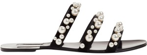 Leith Pearl Dressy Flats Resort Black Sandals