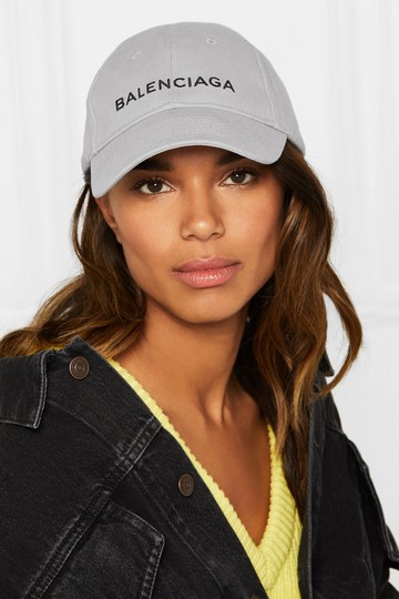 Balenciaga Logo Embroidered Baseball Hat Image 1