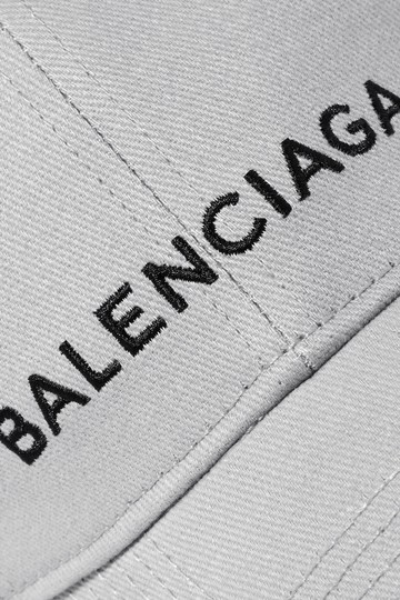 Balenciaga Logo Embroidered Baseball Hat Image 3