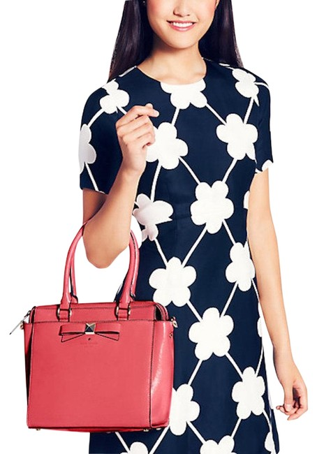 Item - Beacon Court Garland Red Patent Leather Satchel