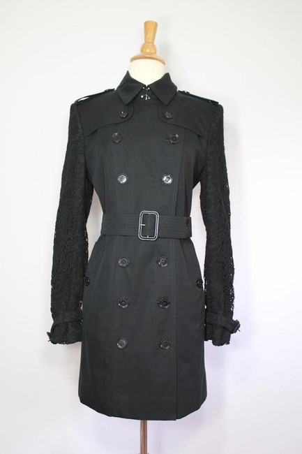 Burberry Lace Jacket Trench Coat Image 10