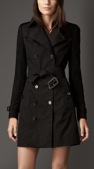 Burberry Lace Jacket Trench Coat Image 11