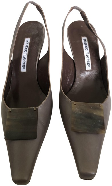 Item - Taupe M-lono Pumps Size US 8 Regular (M, B)