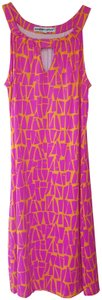 Barbara Gerwit short dress Fuchsia and Orange on Tradesy