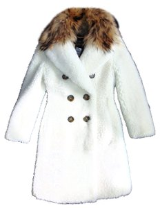 Burberry Shearling Fur Coat