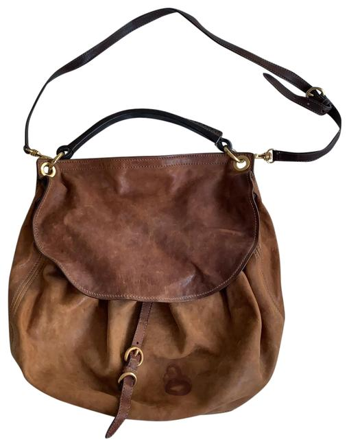 Item - Tan Lambskin Leather Hobo Bag