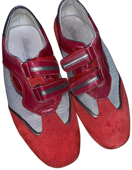 Item - Red Suede Sneakers Size EU 39 (Approx. US 9) Regular (M, B)