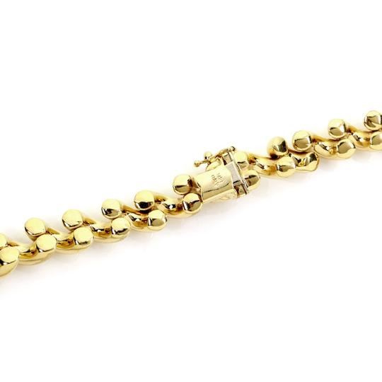 Other San Marco Italy 14k Yellow Gold Macaroni Link Necklace Image 1