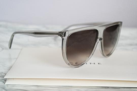 Céline NEW Celine Sunglasses 41435/S 0RDN Thin Shadow Clear Oversized Image 3