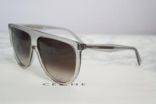 Céline NEW Celine Sunglasses 41435/S 0RDN Thin Shadow Clear Oversized Image 4