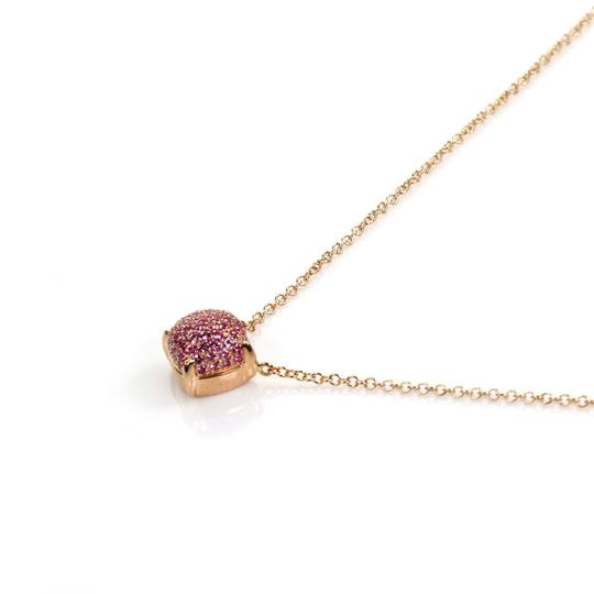 Tiffany & Co. Picasso Sugar Stack Pink Sapphire 18k Rose Gold Mini Pendant Image 1