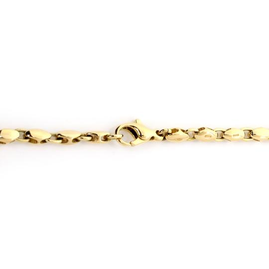 BVLGARI 18k Yellow Gold Fancy Link Chain Necklace Image 2
