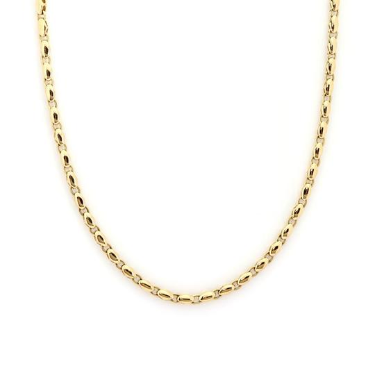 BVLGARI 18k Yellow Gold Fancy Link Chain Necklace Image 3