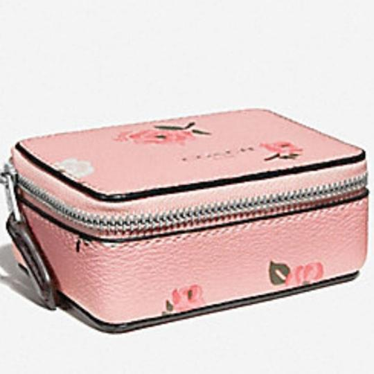 Coach COACH NEW TRIPLE PILL BOX PINK PEONY 3 VIAL Image 1