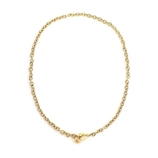 Preload https://img-static.tradesy.com/item/25654587/bvlgari-23790-oval-and-round-link-18k-yellow-gold-chain-engraved-clasp-necklace-0-1-540-540.jpg