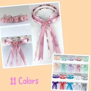 Headpiece Headband Halo Easter Bridesmaid Wreath 0 To 18 Months/2 To 10 Years Flower Girl Accessory