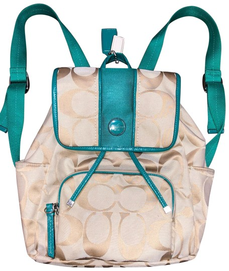 Preload https://img-static.tradesy.com/item/25654766/coach-signature-stripe-tan-backpack-0-1-540-540.jpg