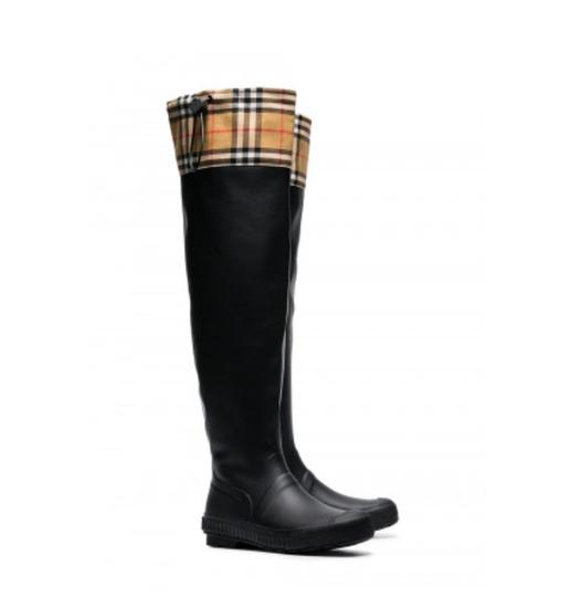 Burberry Black Boots Image 2