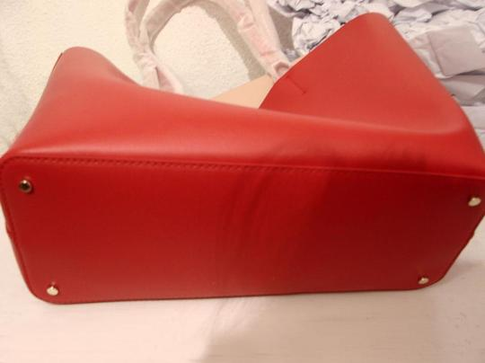 Kate Spade Tote in Hot Chili/Natural Image 7