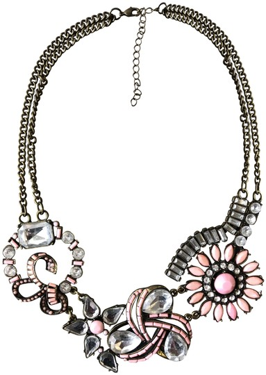 Preload https://img-static.tradesy.com/item/25654806/francesca-s-bronze-and-pink-fantasy-vintage-art-nouveau-style-necklace-0-1-540-540.jpg