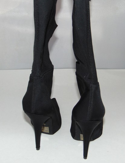 Jeffrey Campbell Sexy Black Stretch Cut Out Boots Image 3