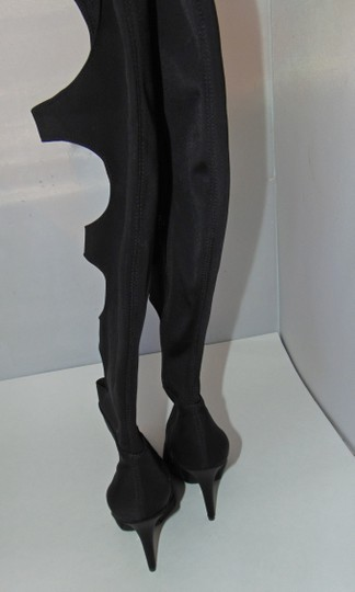 Jeffrey Campbell Sexy Black Stretch Cut Out Boots Image 7