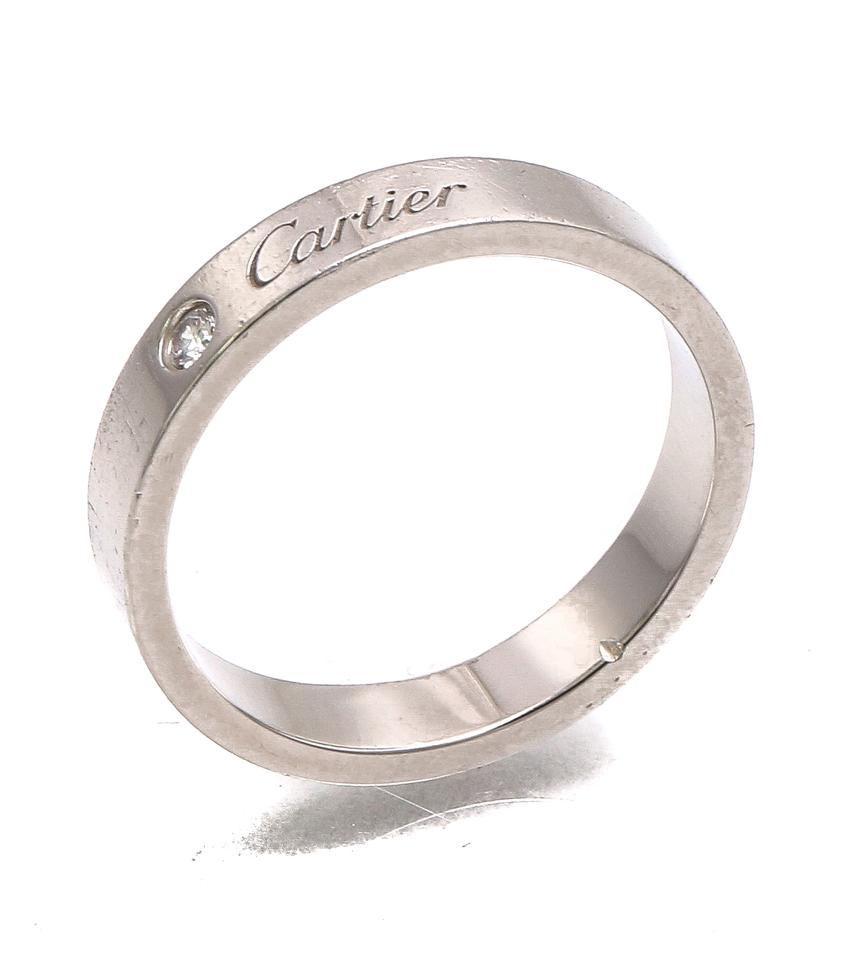 cartier ring material