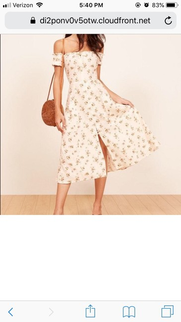 Geraldine floral Maxi Dress by Reformation Image 1