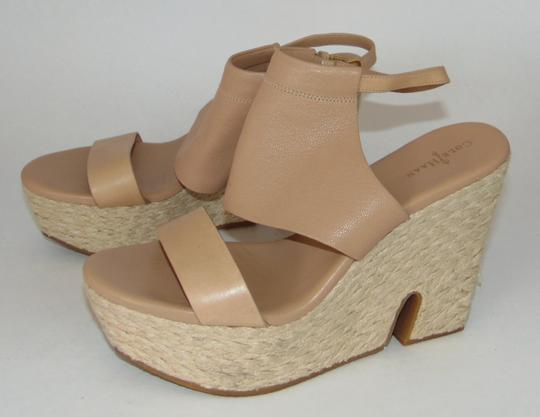 Cole Haan Nude Leather Sandals Image 1