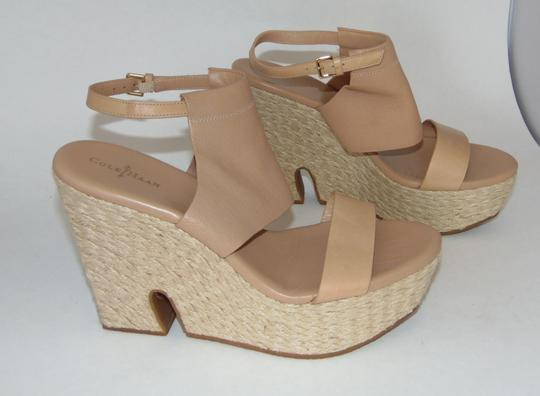 Cole Haan Nude Leather Sandals Image 3