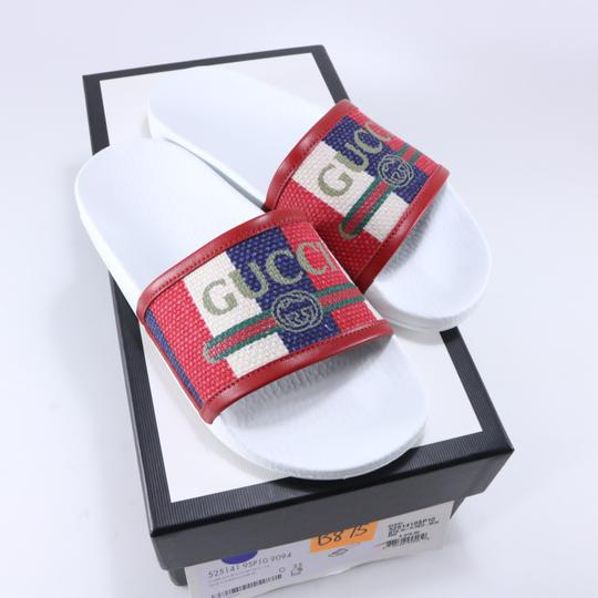 Gucci Pool Slides Pool Slides Nautical Striped multicolor Sandals Image 1
