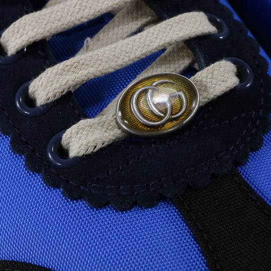 Gucci Sneakers Web Logo Sneakers blue Athletic Image 10