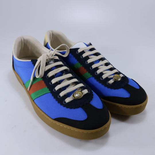 Gucci Sneakers Web Logo Sneakers blue Athletic Image 2