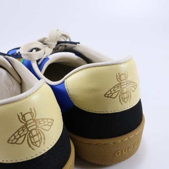Gucci Sneakers Web Logo Sneakers blue Athletic Image 5