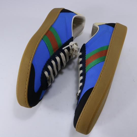 Gucci Sneakers Web Logo Sneakers blue Athletic Image 7