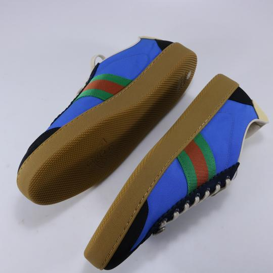 Gucci Sneakers Web Logo Sneakers blue Athletic Image 8