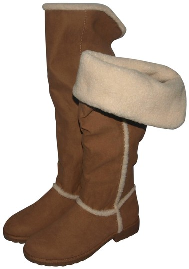 Preload https://img-static.tradesy.com/item/25654924/so-beige-and-tan-fashion-faux-suede-sherpa-lined-musictan-style-bootsbooties-size-us-85-regular-m-b-0-1-540-540.jpg