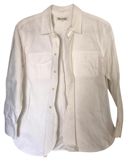 Preload https://img-static.tradesy.com/item/25654941/madewell-white-button-down-top-size-4-s-0-1-650-650.jpg