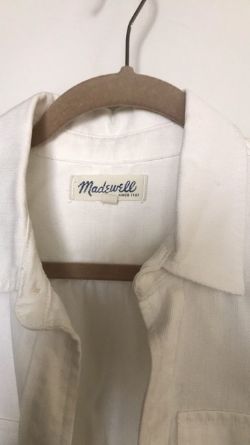 Madewell Button Down Shirt white Image 2