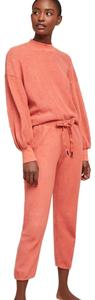Anthropologie Baggy Pants Coral