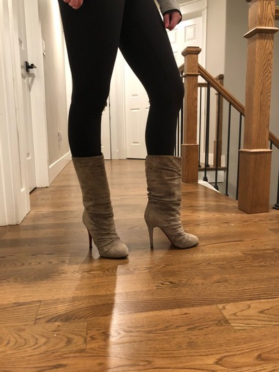 Christian Louboutin taupe/gray Boots Image 1