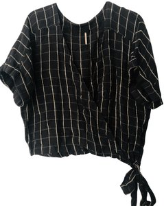 Free People Wrap Top Gray