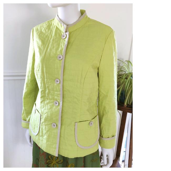 Preload https://img-static.tradesy.com/item/25655277/sigrid-olsen-green-quilted-cotton-casual-jacket-size-8-m-0-0-650-650.jpg